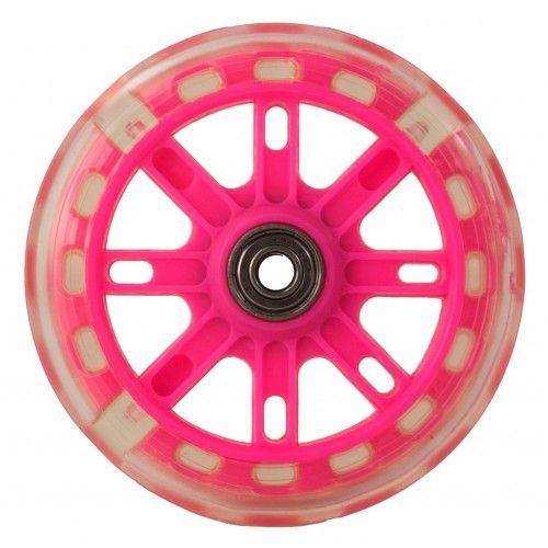 Pack de dos ruedas de repuesto con luces para patinete Airel - 2