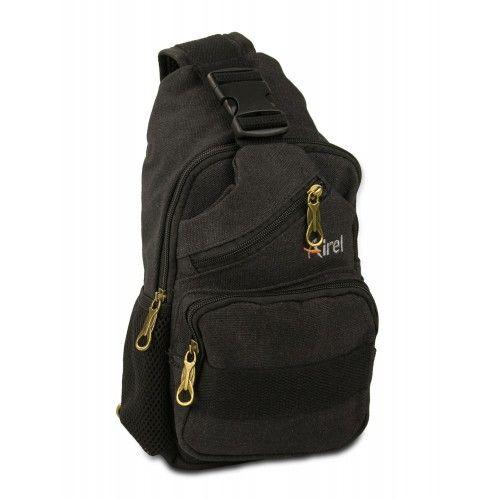 Bolsa de hombro táctica con multibolsillos 32x18x8cm Airel - 4