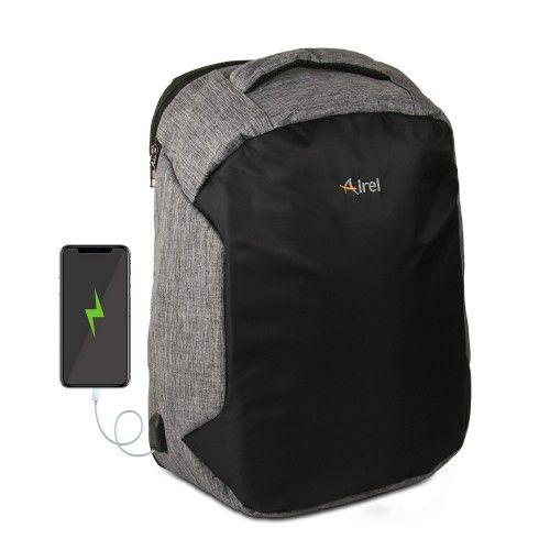 Mochila con cargador portátil para teléfono móvil 46x33x16 cm Airel - 1