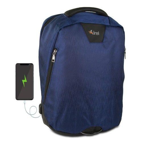Mochila con cargador portátil para teléfono móvil 41x35x15 cm Airel - 1