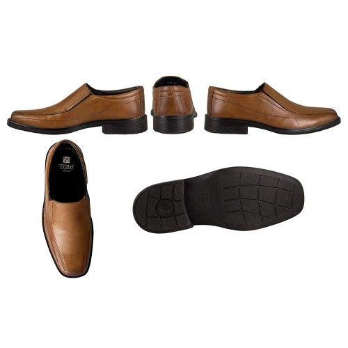Zapatos clasicos de piel estilo elegante Zerimar - 6