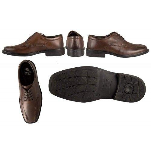 Zapatos clasicos de piel estilo elegante para hombre Zerimar - 2