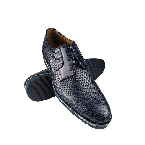 Zapatos de piel de hombre de diseño elegante Zerimar - 1