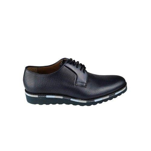 Zapatos de piel de hombre de diseño elegante Zerimar - 2