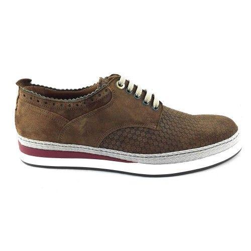 Zapatos para caballeros estilo casual color azul marino Zerimar - 2
