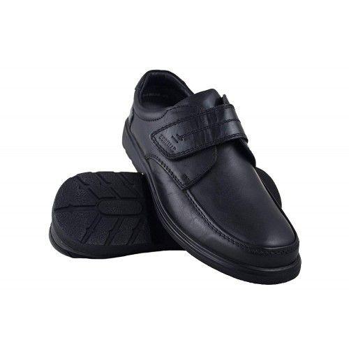 Zapatos de hombres de piel para hosteleria Zerimar - 1