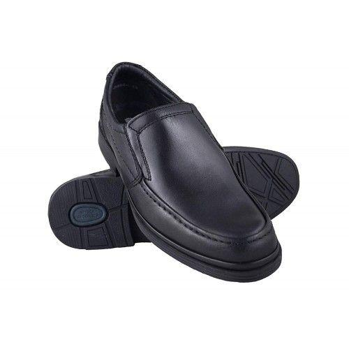 Zapatos de piel para camareros color marron Zerimar - 1