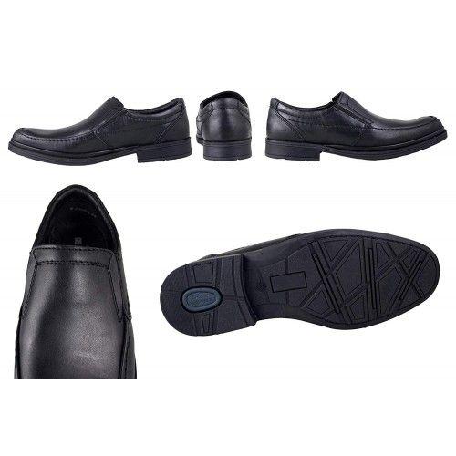 Zapatos de piel para camareros color marron Zerimar - 2