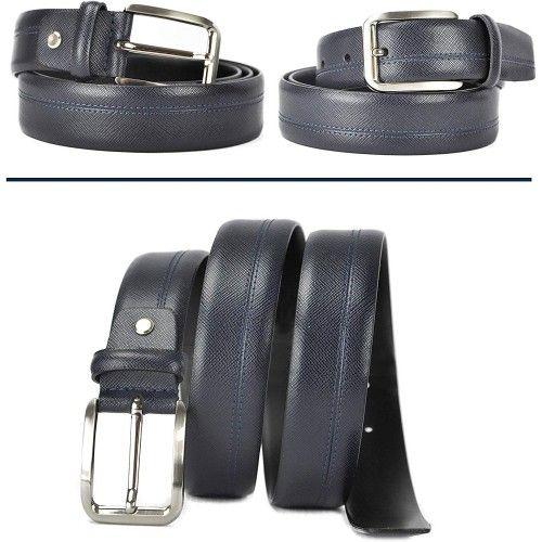 Cinturón de piel estilo elegante 4 cm de ancho Zerimar - 2