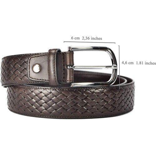 Cinturón de piel estilo elegante 4 cm-1 Zerimar - 2