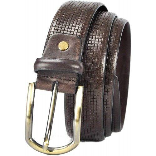 Cinturón de piel elegante 4 cm de ancho Zerimar - 1