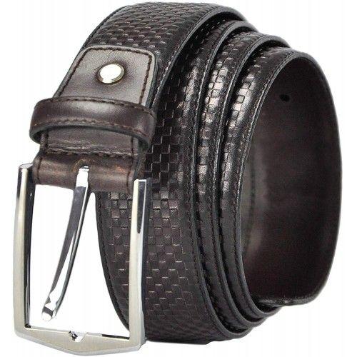 Cinturón de piel elegante 4 cm ancho Zerimar - 1