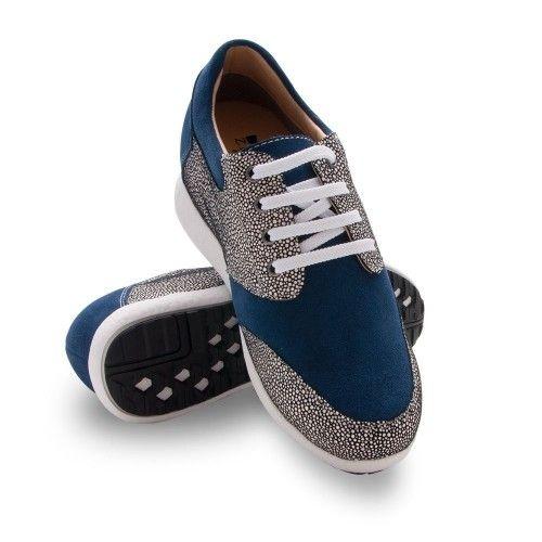 Zapatos deportivo bicolor de mujer con alzas de 7 cm Zerimar - 1