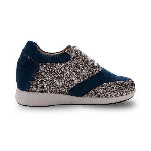 Zapatos deportivo bicolor de mujer con alzas de 7 cm Zerimar - 2