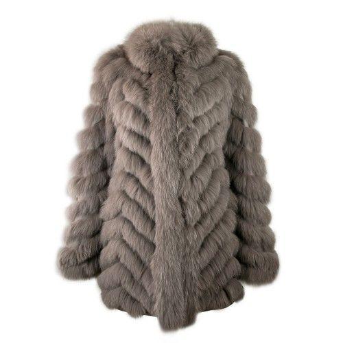Abrigo reversible de zorro con cierre de cremallera Zerimar - 1