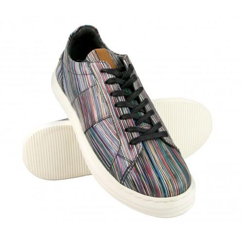 Sneakers de piel modelo LONG Zerimar - 1