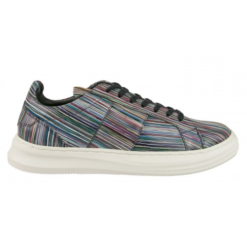 Sneakers de piel modelo LONG Zerimar - 2