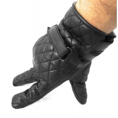 Guante de moto de piel acolchada Kenrod - 2