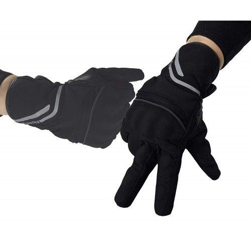 Guantes para motoristas de piel y tejido con protecciones Kenrod - 1