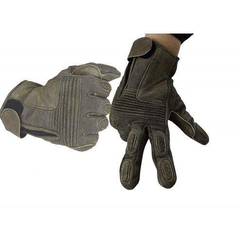 Guantes de piel para moto con protecciones Kenrod - 1