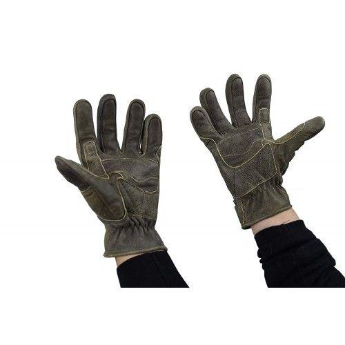 Guantes de piel para moto con protecciones Kenrod - 2