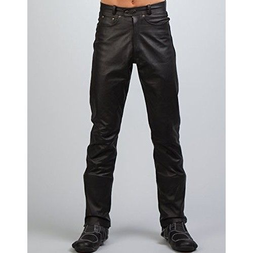 Pantalon de piel con bolsillos Kenrod - 1