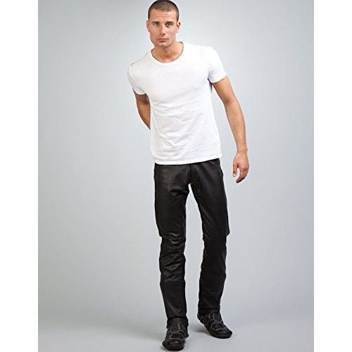 Pantalon de piel con bolsillos Kenrod - 2