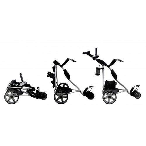 Carrito de Golf Eléctrico Plegable con 3 Ruedas - Batería gel Airel - 2