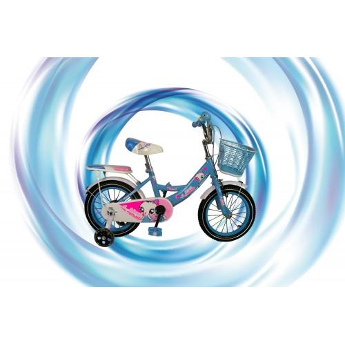 Bicicleta de niña de 14-16-18-20 pulgadas con cesta Airel - 2