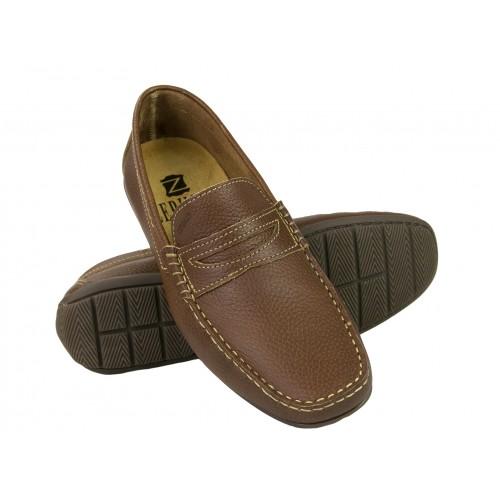 Zapatos náuticos de piel en varios colores Zerimar - 1