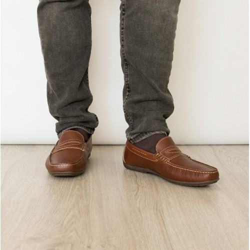 Zapatos náuticos de piel en varios colores Zerimar - 2