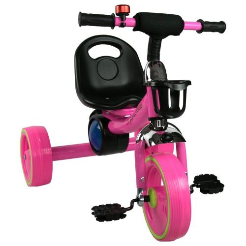 Triciclo con pedales de 2 a 6 años con música y luces Airel - 1
