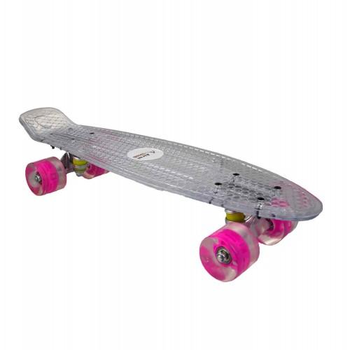 Skateboard monopatin con tabla antideslizante y ruedas suaves Airel - 1