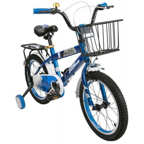 Bicicleta de 16 o 18 pulgadas metalizada con ruedines de plástico Airel - 1