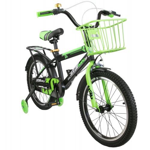 Bicicleta de 16 o18 pulgadas con ruedines de luces Airel - 1