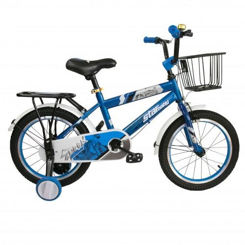 Bicicleta de 16 o 18 pulgadas metalizada con ruedines de plástico Airel - 2