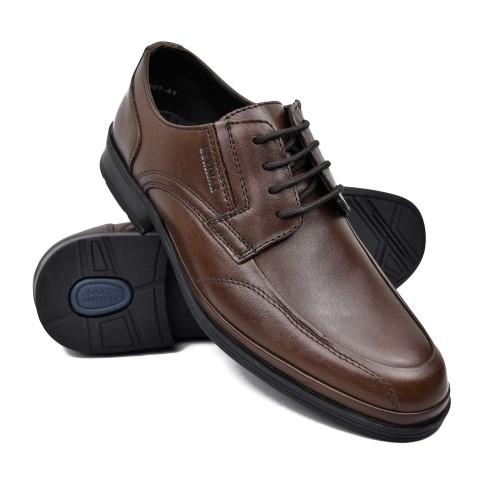 Zapatos de hombre para hosteleria de piel con cordones Zerimar - 1