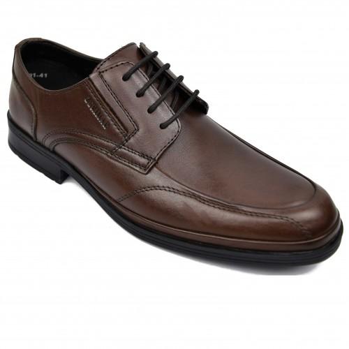 Zapatos de hombre para hosteleria de piel con cordones Zerimar - 2