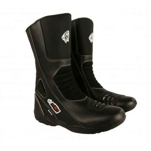 Botas de piel para moto con protecciones Kenrod - 1
