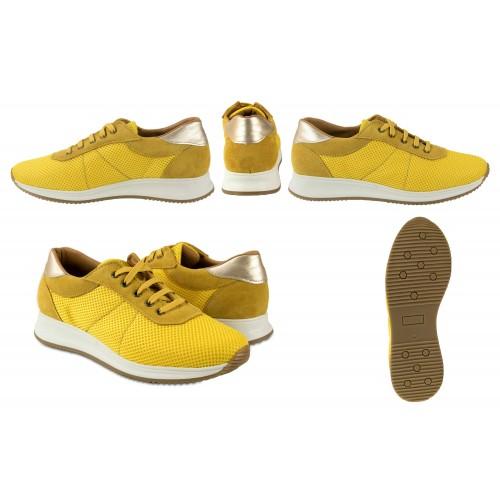 Sneakers de piel combinados con plataforma modelo FLY Zerimar - 2