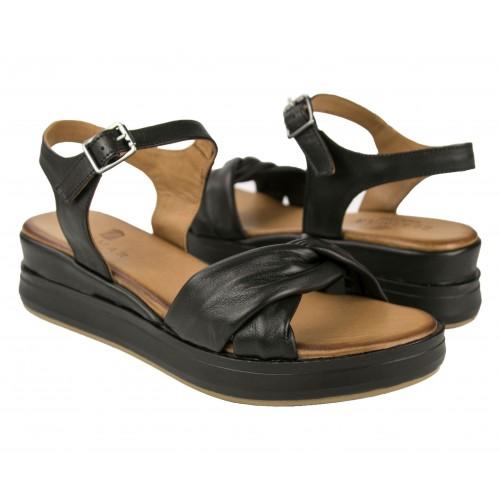 Sandalias de piel con plataforma y cierre de hebilla NUDO Zerimar - 1