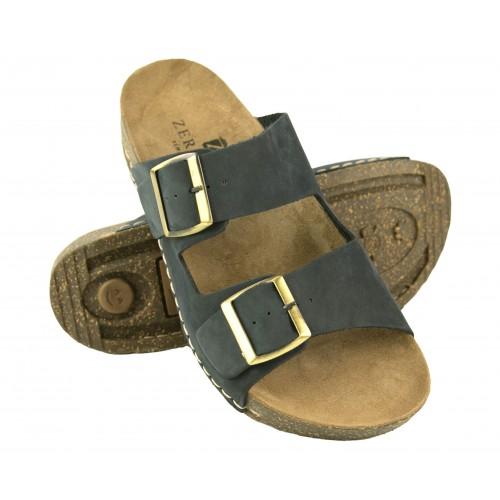 Sandalias de piel con doble hebilla modelo BIOS Zerimar - 1