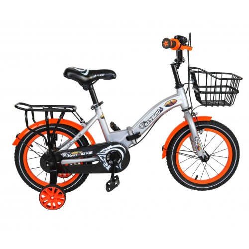 Bicicleta dobrável infantil de 14-18 polegadas com cesta Airel - 2